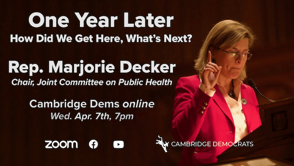 Marjorie Decker — One Year Later: How Did We Get Here, What's Next?