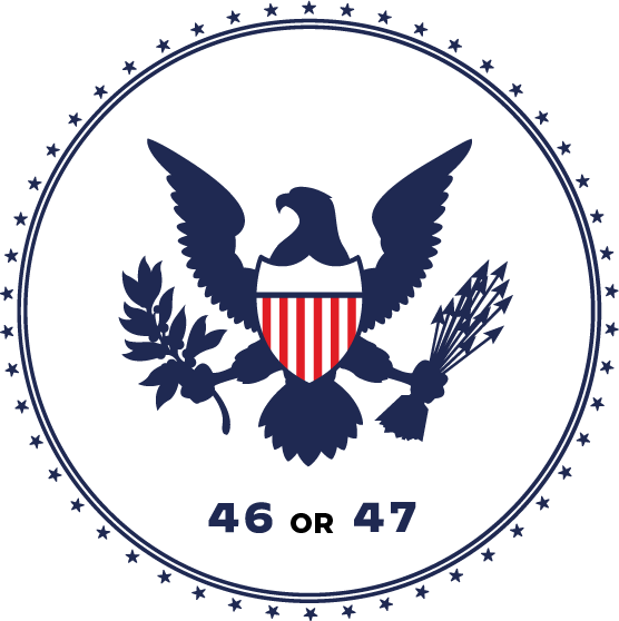 Biden transition logo 46 or 47