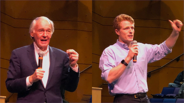 Senator Ed Markey and Congressman Joe Kennedy
